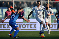 Matias Silvestre of Empoli and Mauro Icardi of Internazionale compete for the ball during the Serie A 2018/2019 football match between Empoli and Internazionale at stadio Castellani, Empoli, December, 29, 2018 <br /> Foto Andrea Staccioli / Insidefoto