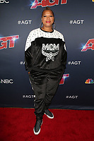HOLLYWOOD, CA - SEPTEMBER 10: Queen Latifah at America's Got Talent Season 14 Live Show Arrivals at The Dolby Theatre in Hollywood, California on September 10, 2019. <br /> CAP/MPIFS<br /> ©MPIFS/Capital Pictures