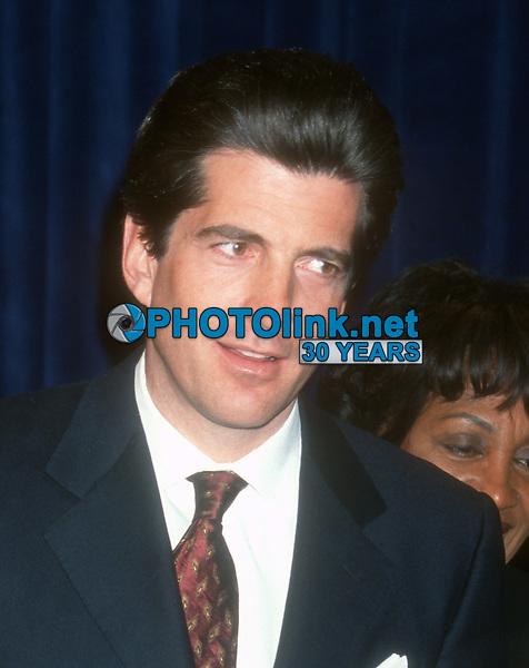 John F. Kennedy, Jr, 1999, Photo By John Barrett/PHOTOlink