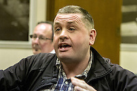 Meeting - Photo Finish: Has the Shutter Come Down On News Photographers? 14th April 2015 <br /> Venue: Birmingham City Council House <br /> <br /> Chair, Steve Dyson, Former Editor, Birmingham Mail, Guardian, Hold The Front Page, Blogger, Broadcaster, media trainer<br /> Paul Delmar, Former Head, National Council For The Training Of Journalists,<br /> Bob Smith, 30 years experience as news photographer, made redundant 2014<br /> Barbara Lindberg, Freelance Photographer,<br /> Chris Morley, NUJ Northern and Midlands Organiser