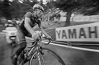 Nairo Quintana (COL/Movistar) on his way to victory (and pink) in the final kilometer up the Val Martello climb/finish (2059m)<br /> <br /> 2014 Giro d'Italia <br /> stage 16: Ponte di Legno - Val Martello (139km)