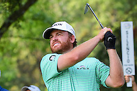 J.B. Holmes (USA) watches his tee shot on 17 during round 4 of the World Golf Championships, Mexico, Club De Golf Chapultepec, Mexico City, Mexico. 3/5/2017.<br /> Picture: Golffile | Ken Murray<br /> <br /> <br /> All photo usage must carry mandatory copyright credit (&copy; Golffile | Ken Murray)