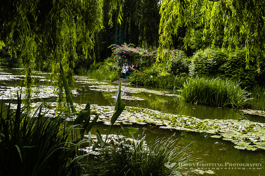 Giverny in France is best known for Claude Monet's garden and home.