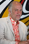 """Actor John Malkovich give a press conference about the """"Infernal Comedy"""" who he's acting tonight in Athens."""