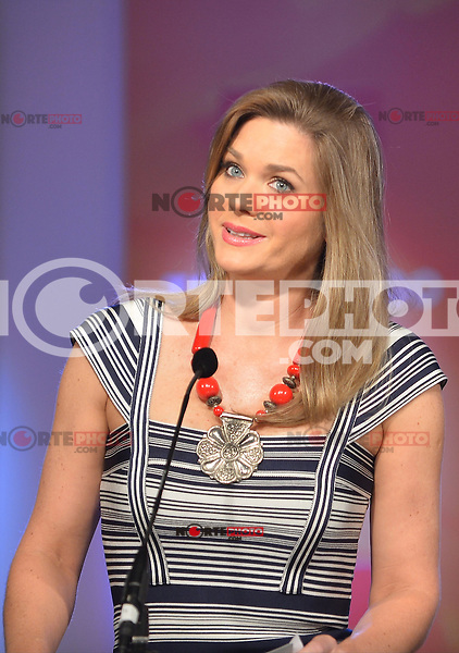 MIAMI, FL - FEBRUARY 05: Sonya Smith at the Telemundo and Premios Billboard 2013 Press Conference at Gibson Miami Showroom on February 5, 2013 in Miami, Florida. © MPI10/MediaPunch Inc /NortePhoto