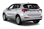 Car pictures of rear three quarter view of a 2020 Buick Envision Preferred FWD 5 Door SUV angular rear