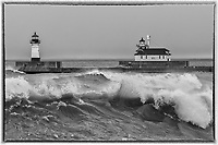 North and South Pier Lighthouses<br />