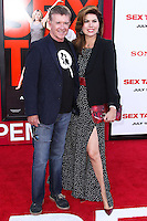 WESTWOOD, LOS ANGELES, CA, USA - JULY 10: Alan Thicke, Tanya Callau arrive at the World Premiere Of Columbia Pictures' 'Sex Tape' held at the Regency Village Theatre on July 10, 2014 in Westwood, Los Angeles, California, United States. (Photo by Xavier Collin/Celebrity Monitor)