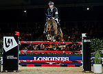 Scott Brash of United Kingdom riding Hello M'Lady in action during the Laiterie De Montaigu Trophy as part of the Longines Hong Kong Masters on 14 February 2015, at the Asia World Expo, outskirts Hong Kong, China. Photo by Victor Fraile / Power Sport Images