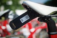 the TDF transponders are unique (so far) in cycling<br /> <br /> Final stage 21 - Chantilly › Paris/Champs Elysées (113km)<br /> 103rd Tour de France 2016
