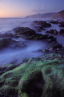 California, Point Reyes, McClures Beach at sunset