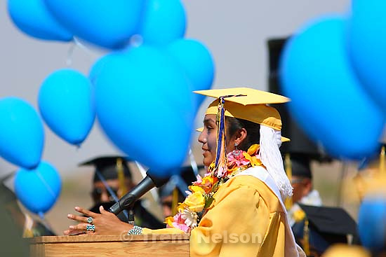 Whitehorse High School graduation.<br />