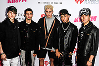 CNCO at iHeartRadio KIIS FM Wango Tango at the Dignity Health Sports Park.