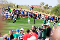 Justin Thomas (USA) on the 8th fairway during the 3rd round of the Waste Management Phoenix Open, TPC Scottsdale, Scottsdale, Arisona, USA. 02/02/2019.<br /> Picture Fran Caffrey / Golffile.ie<br /> <br /> All photo usage must carry mandatory copyright credit (&copy; Golffile | Fran Caffrey)