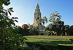 The California Tower in San Diego's Balboa Park.