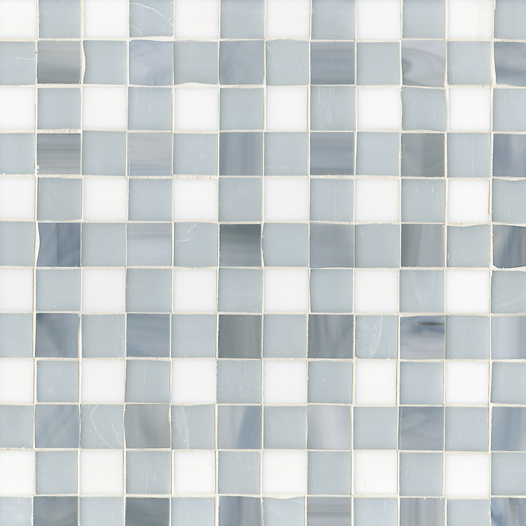 Bonnie, a jewel glass mosaic field shown in Pearl, Moonstone and Opal.