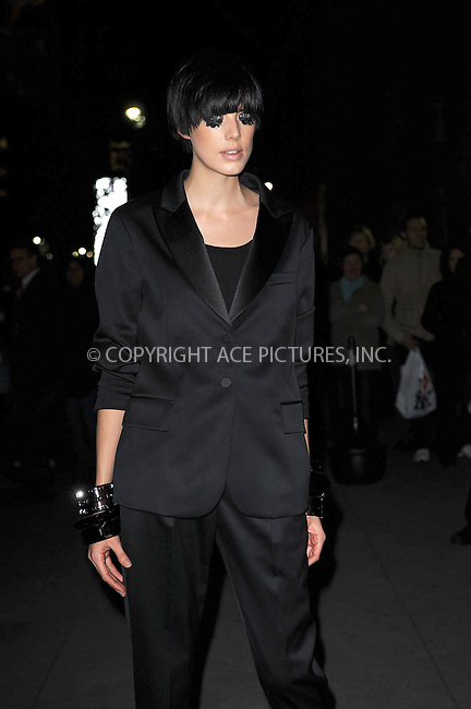 WWW.ACEPIXS.COM . . . . . ....November 2 2009, New York City....Model Agyness Deyn arriving at the 13th Annual 2009 ACE Awards presented by the Accessories Council at Cipriani 42nd Street on November 2, 2009 in New York City.....Please byline: KRISTIN CALLAHAN - ACEPIXS.COM.. . . . . . ..Ace Pictures, Inc:  ..tel: (212) 243 8787 or (646) 769 0430..e-mail: info@acepixs.com..web: http://www.acepixs.com