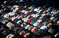 Eid Al Adha or Sacrifice Celebration Islamic prayer