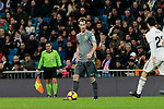 Real Sociedad's David Zurutuza during La Liga match between Real Madrid and Real Sociedad at Santiago Bernabeu Stadium in Madrid, Spain. January 06, 2019. (ALTERPHOTOS/A. Perez Meca)<br />  (ALTERPHOTOS/A. Perez Meca)