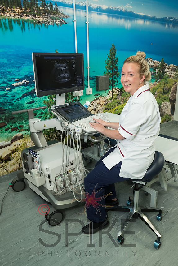 Pictured is Calre Cormell of QMC Hospital, Nottingham
