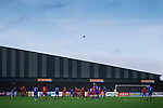 Scarborough Athletic were formed after the original Scarborough FC were wound up in 2007. For ten years the club ground shared with Bridlington Town, before returning to play at the Flamingo Land Stadium in 2017-18. <br />
