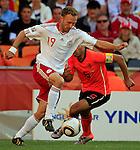 Dennis Rommedahl Soccer Football - 2010 FIFA World Cup - Group E - Netherlands v Denmark Johannesburg Soccer City Stadium South Africa, Monday, June 14, 2010.