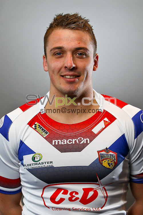 Picture by Alex Whitehead/SWpix.com - 23/01/2014 - Rugby League - Super League - Wakefield Wildcats Media Day - Rapid Solicitors Stadium, Wakefield, England - Lee Smith