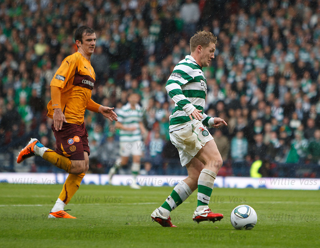 Kris Commons and Gavin Gunning