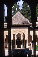 GRANADA-ESPAÑA-24-06-La Alhambra, en Granada España.The Alhambra, in Granada, Spain. (Photo: VizzorImage)