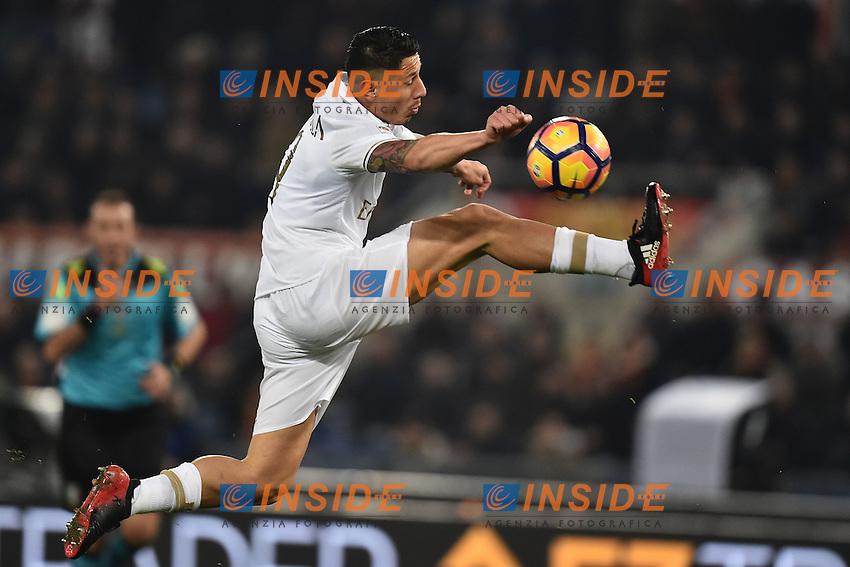 Gianluca Lapadula Milan <br /> Roma 12-12-2016 Stadio Olimpico Football <br /> Campionato Serie A 2016/2017 <br /> AS Roma - Milan <br /> Foto Andrea Staccioli / Insidefoto