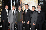 "LOS ANGELES, CA. - February 24: James Badge Dale, Joe Mazzello, Steven Spielberg, Tom Hanks, Jon Seda and Bruce C. McKenna arrive to HBO's premiere of ""The Pacific"" at Grauman's Chinese Theatre on February 24, 2010 in Los Angeles, California."