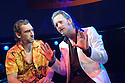 The Last Days of Judas Iscariot by Stephen Adley Guiris,directed by Rupert Goold. With Joseph Mawle as Judas Iscariot,Douglas Henshall as Satan .Opens at The Almeida  Theatre  on 3/4/08. CREDIT Geraint Lewis
