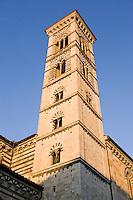 Il campanile del Duomo di Prato.<br /> The belltower of the Cathedral of Prato.<br /> UPDATE IMAGES PRESS/Riccardo De Luca