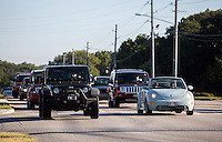 NWA Democrat-Gazette/JASON IVESTER <br /> Traffic passes through the intersection on Thursday, Aug. 20, 2015, at N. Walton Boulevard and Tiger Boulevard in Bentonville.