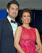 Actors Ed Weeks, left, and Bellamy Young arrive for the 2016 White House Correspondents Association Annual Dinner at the Washington Hilton Hotel on Saturday, April 30, 2016.<br /> Credit: Ron Sachs / CNP<br /> (RESTRICTION: NO New York or New Jersey Newspapers or newspapers within a 75 mile radius of New York City)