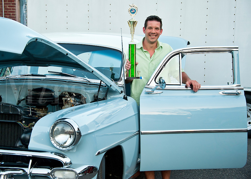 Classic car show winner.