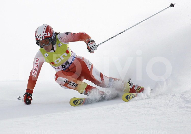 Ski Alpin Weltcup  Saisonauftakt in Soelden , AUT Riesenslalom Damen 27.10.07 Ruiz Castillo, Carolina  (ESP)