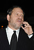 Harvey Weinstein ..arriving at the party Louis Vuitton  had for artist Olafur Eliasson on November 9, 2006 at the Louis Vuitton ..Fifth Avenue Maison in New York City. ..Robin Platzer, Twin Images