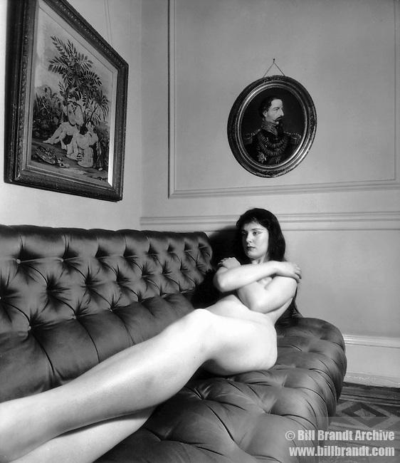 Nude,  London,1955c