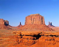 View of Monument Valley from Ford Point.