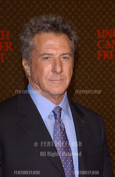 Nov 8, 2004; Los Angeles, CA; Actor DUSTIN HOFFMAN at the Louis Vuitton United Cancer Front Gala at Universal Studios, California.