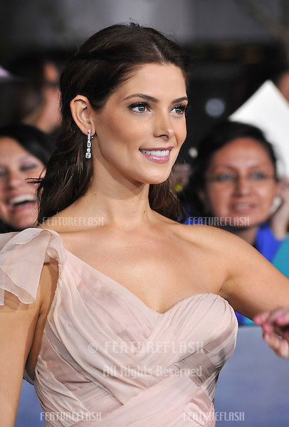 "Ashley Greene at the world premiere of her movie ""The Twilight Saga: Breaking Dawn - Part 2"" at the Nokia Theatre LA Live..November 12, 2012  Los Angeles, CA.Picture: Paul Smith / Featureflash"
