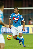 Faouzi Ghoulam                                                                                                                                                                                                                                                                                                                                                                                                                                                                                                                                                                                                                                                                                                                                                                                                                                                                                                                                                                                                                                                                                                       during the  italian serie a soccer match,between SSC Napoli and Udinese      at  the San  Paolo   stadium in Naples  Italy , November 08, 2015