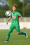 Natsuko Hara (Beleza), <br /> JULY 12, 2015 - Football / Soccer : <br /> 2015 Plenus Nadeshiko League Division 1 <br /> between NTV Beleza 1-0 AS Elfen Saitama <br /> at Hitachinaka Stadium, Ibaraki, Japan. <br /> (Photo by YUTAKA/AFLO SPORT)