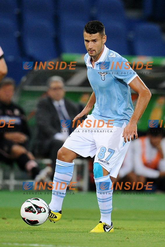 Antonio Candreva (Lazio).02/09/2012 Roma.Stadio Olimpico.Football Calcio 2012 / 2013 .Campionato di Calcio Serie A.Lazio vs Palermo 3-0.Foto Insidefoto / Antonietta Baldassarre.