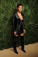 NEW YORK, NY - NOVEMBER 6: Teyana Taylor at the 14th Annual CFDA Vogue Fashion Fund Gala at Weylin in Brooklyn, New York City on November 6, 2017. Credit: John Palmer/MediaPunch