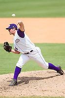 Winston-Salem Dash relief pitcher Carlos Rodon (26) in action against the Frederick Keys at BB&T Ballpark on July 30, 2014 in Winston-Salem, North Carolina.  The Dash defeated the Keys 12-2.   (Brian Westerholt/Four Seam Images)