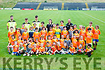 'The future is bright the future is Orange' budding footballers  at the Dr Crokes Cúl Camp on Friday