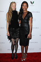 "WEST HOLLYWOOD, CA, USA - FEBRUARY 27: Suzy Amis Cameron, Naomie Harris at the 5th Anniversary Celebration Of Suzy Amis Cameron's Ecofashion Campaign ""Red Carpet Green Dress"" held at Palihouse on February 27, 2014 in West Hollywood, California, United States. (Photo by David Acosta/Celebrity Monitor)"