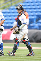April 12, 2009:  Catcher Rafael Arroyo of the St. Lucie Mets, Florida State League Class-A affiliate of the New York Mets, during a game at Tradition Field in St. Lucie, FL.  Photo by:  Mike Janes/Four Seam Images